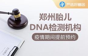 郑州胎儿DNA检测机构