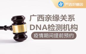 广西亲缘关系DNA检测机构